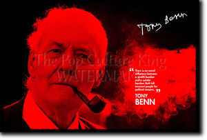 ... about TONY BENN SIGNED ART PHOTO PRINT AUTOGRAPH POSTER GIFT QUOTE