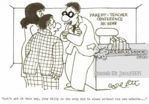 Parent-teacher Conferences cartoon, funny, Parent-teacher Conferences ...