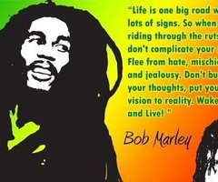 Rasta Quotes About Life Life is for living not living