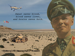 General Field Marshal Erwin Rommel by DAK-Rommel