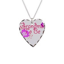 Grandma To Be Necklace Heart Charm for