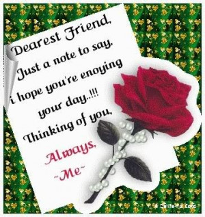 sweet hi other things quotes my favourites friend sayings Good Morning ...