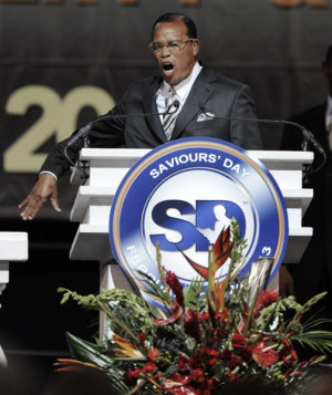 Louis Farrakhan Challenges Pope Francis and Christians, Issues Warning ...