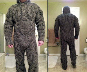 than the average sweater provides, check out this full body sweater ...