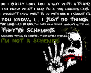 Joker Batman Dark Knight Quotes