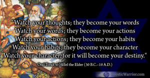 Torah Quote: Watch your thoughts, they become your words…Watch your ...