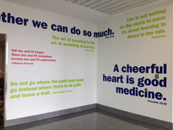 Wall of Inspirational Quotes Unveiled at Lehigh Valley Hospital ...