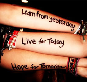 Live For Today Quotes & Sayings