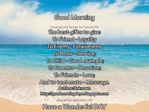Good Morning Sunday. 9 Inspiring Beautiful Quotes for the day