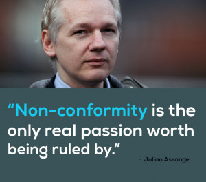 Julian Assange – Assange is a highly polarising figure. Currently ...