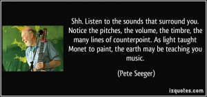 More Pete Seeger Quotes