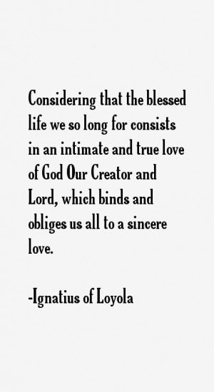 most famous Ignatius of Loyola quotes and sayings (clergyman).