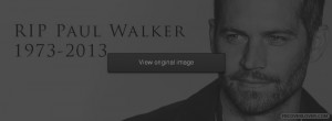 RIP Paul Walker Facebook Covers More Celebrity Covers for Timeline