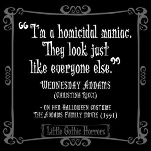 Goth Quotes Tumblr Little gothic horrors: