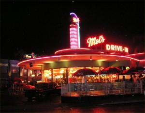 Universal Studios Mels Drive In