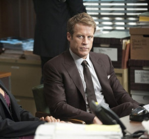 Mark Valley is new to Harry's Law this season. He plays attorney ...