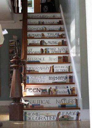 Staircase Painting Ideas Transforming Boring Wooden Stairs with Cool ...