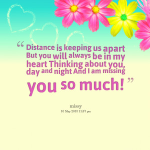 Thinking Of You Always Quotes