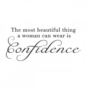 Quotes About Being Confident Wall quotes wall decals
