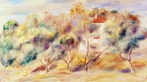 Image Pierre Auguste Renoir Les Colettes Cagnes sur Mer