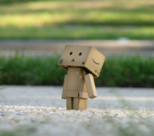 danbo,other,cute,lovely,boxman,robot,alone,lonely,Amazon,