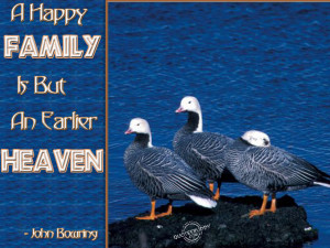 Happy Family quotes about family