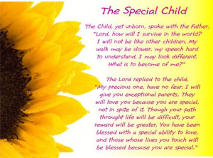 Having a child with special needs