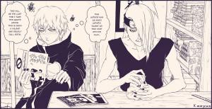 Akatsuki Deidara And Sasori