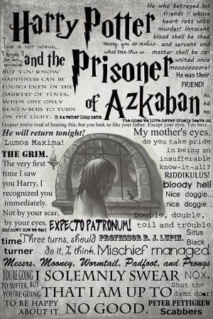 Prisoner of Azkaban Quotes.