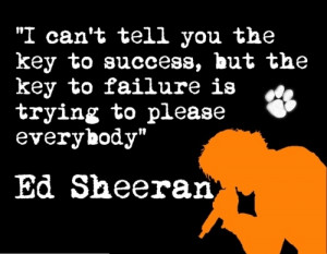 Ed Sheeran quote