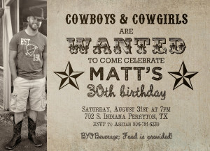 Happy Birthday Cowboy Quotes Happy 30th birthday, matt!