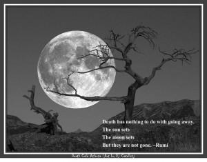Rumi on death.