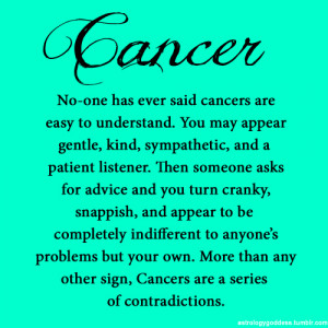 facts cancer astrology