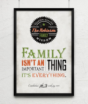 Good Old Days Family Wisdom Quote