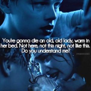 Titanic. This part is so sad :(