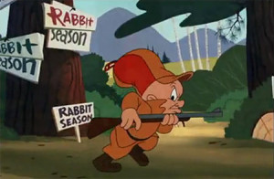 Elmer Fudd Hunting