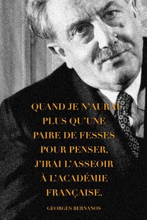 Citation de Georges Bernanos (1888 - 1948)