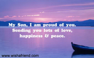Am Proud Of You, Son