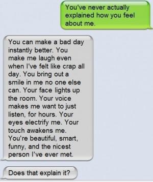 ... text #boyfriend #love #i love you #your amazing #couple #cute couple