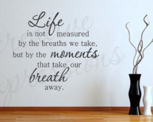 ... ... Sentimental Inspirational Wall Quote Vinyl Wall Decal Home Decor