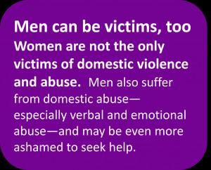 Domestic Violence. Against Men?