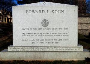Former Mayor of New York Ed Koch dead at 88