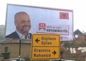 Presevo welcomes Prime Minister Edi Rama