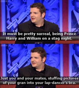 Scottish comedian Kevin Bridges on Royal Family problems ( i.imgur.com ...