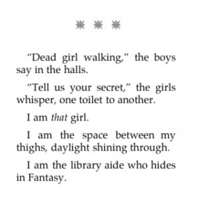 By Laurie Halse Anderson Quotes Wintergirls by laurie halse anderson ...