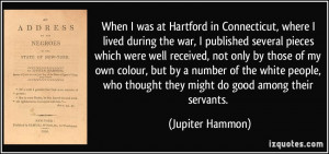 More Jupiter Hammon Quotes