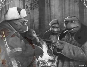 ... mutant ninja turtles michelangelo donatello leonardo r Wallpaper