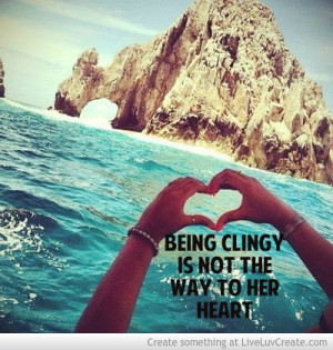 How to not be clingy when dating