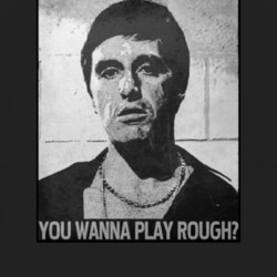Scarface quote movie 80s gangster hip hop Pacino Tony Montana t shirt ...
