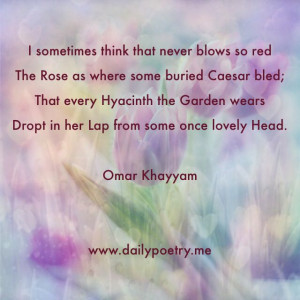 poem by Omar Khayyam. #poetry #poem #iran #literature
